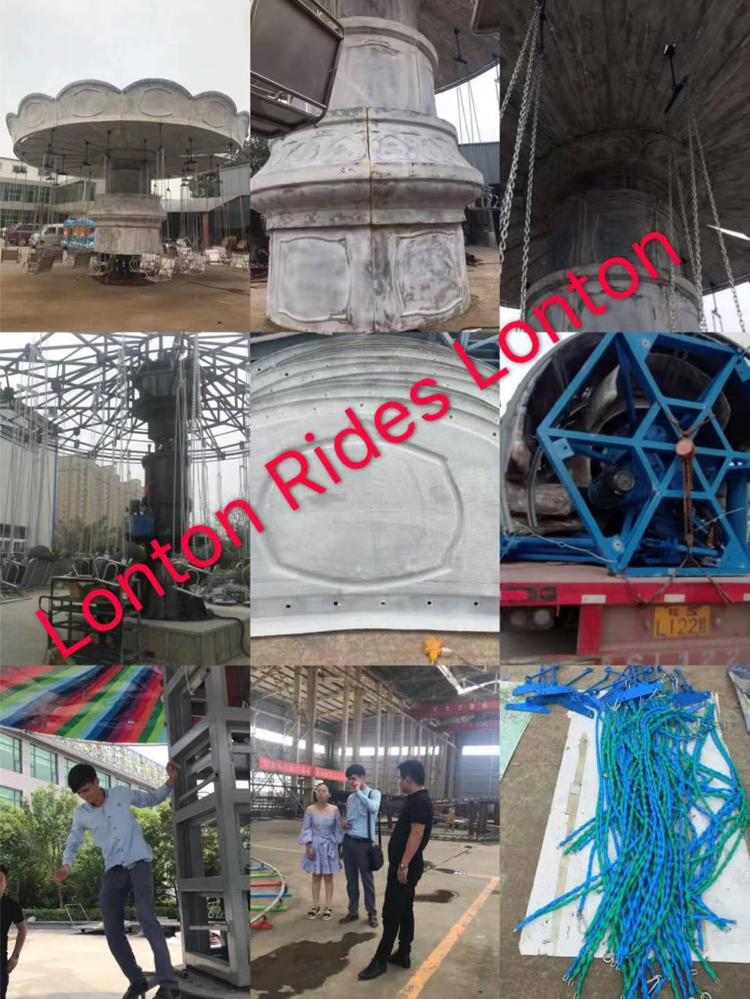 Lonton Rides Costomer Visit