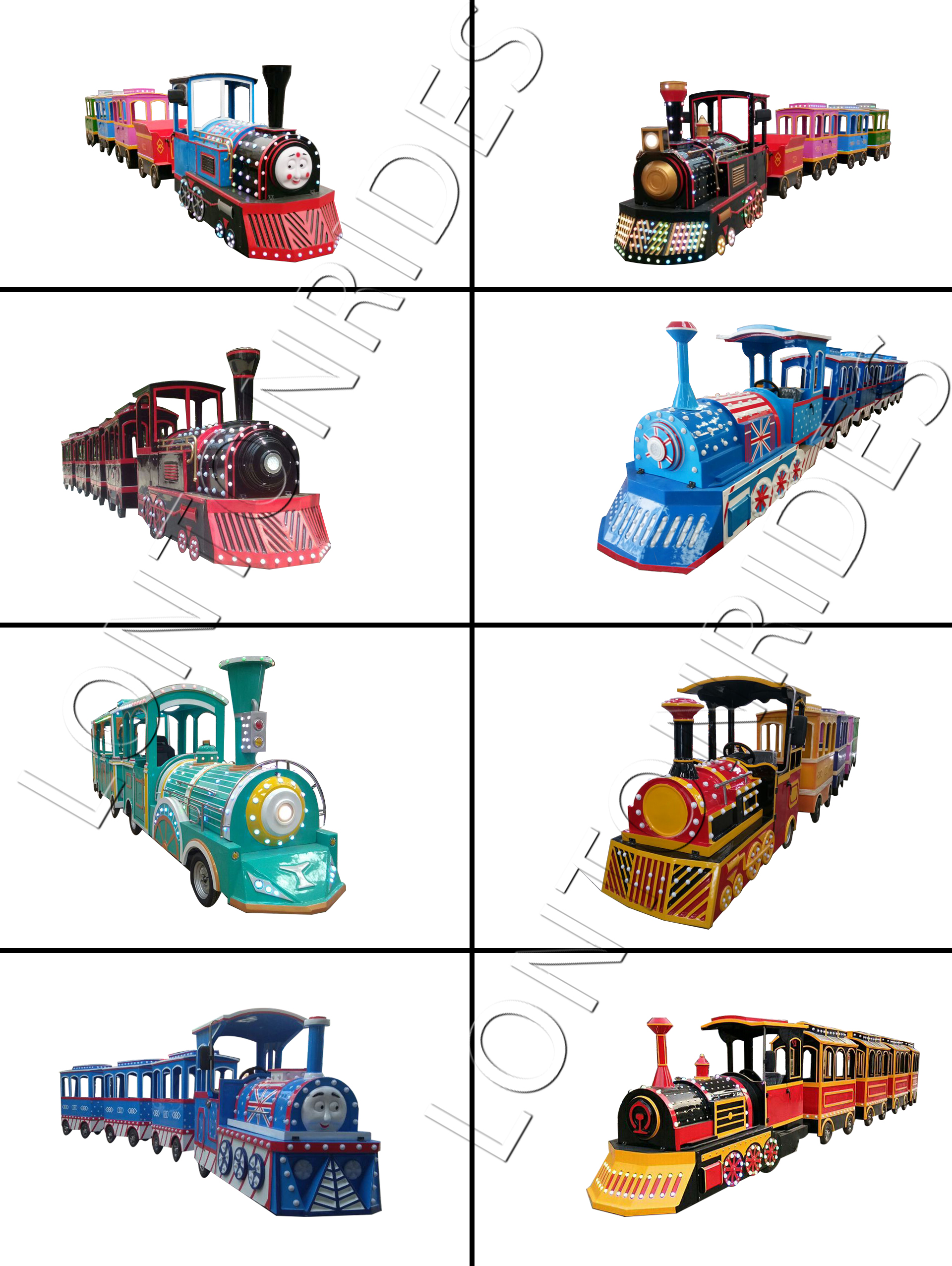 Trackless train designs 加水印
